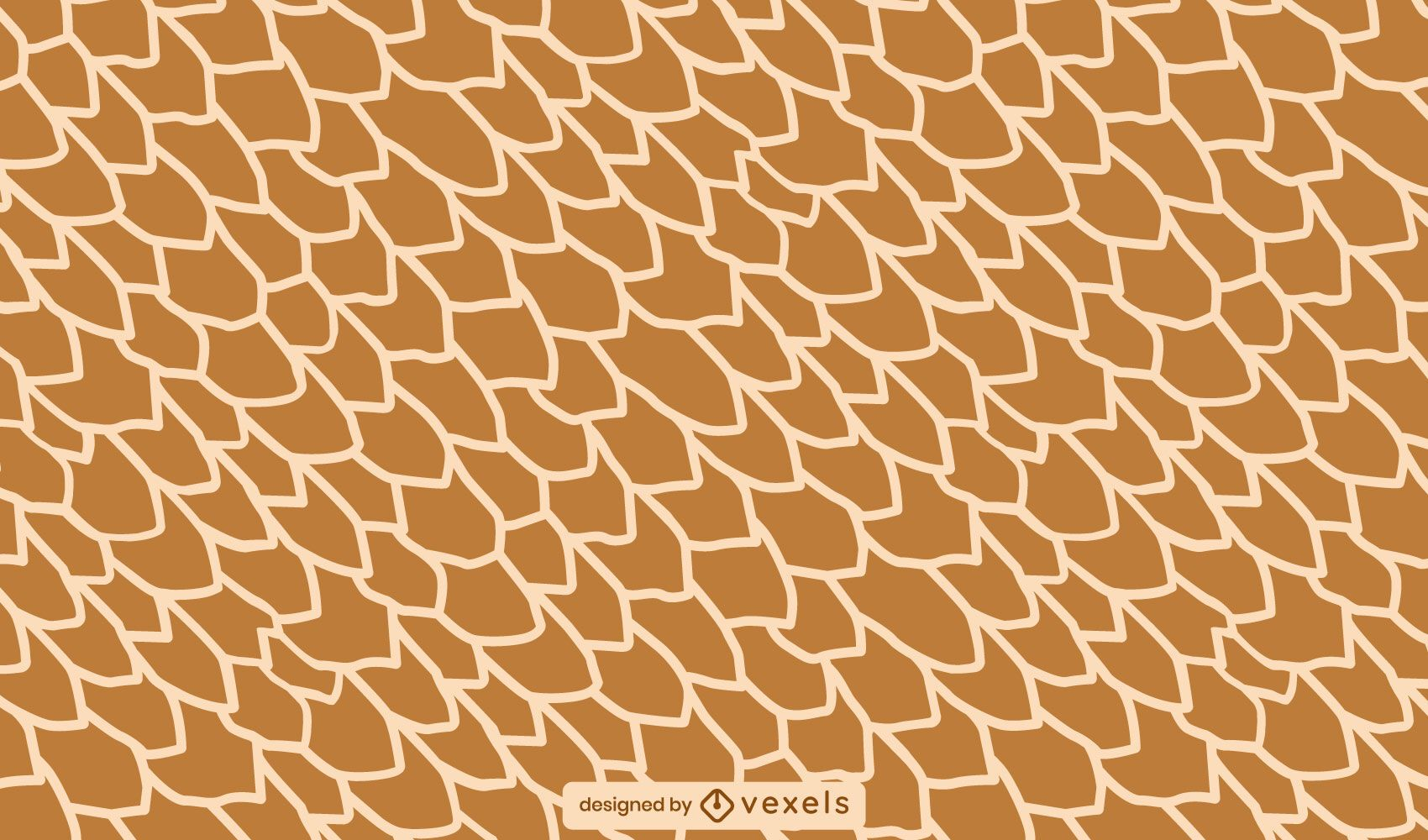Giraffe skin pattern design