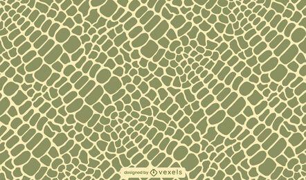 Design de padrão de pele de crocodilo