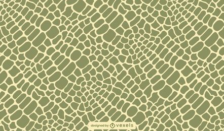 Diseño de patrón de piel de cocodrilo