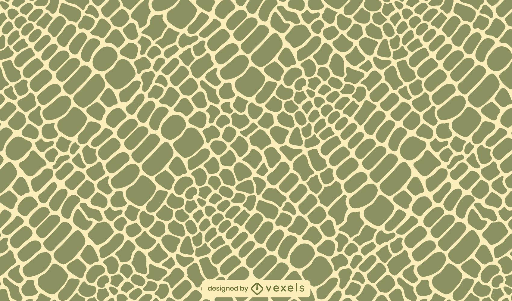 Crocodile skin pattern design