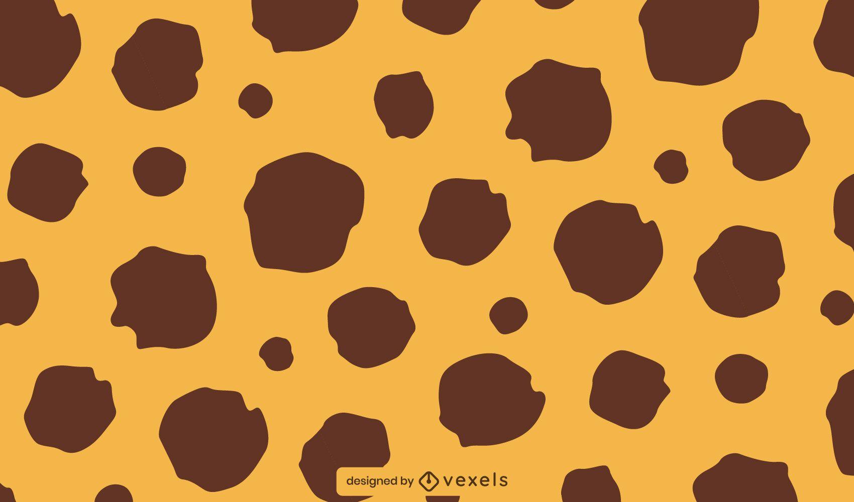 Diseño de patrón de guepardo