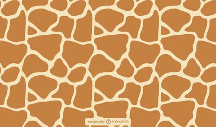 Giraffe animal print pattern