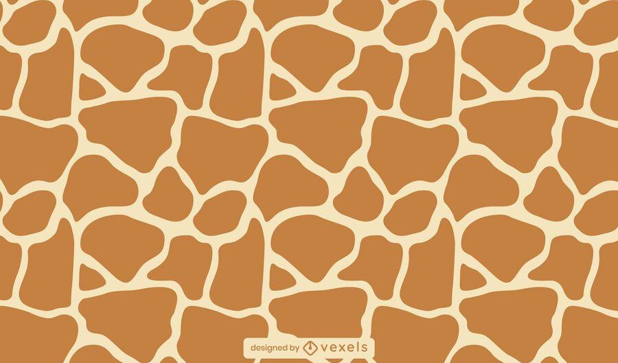 Giraffe animal print pattern