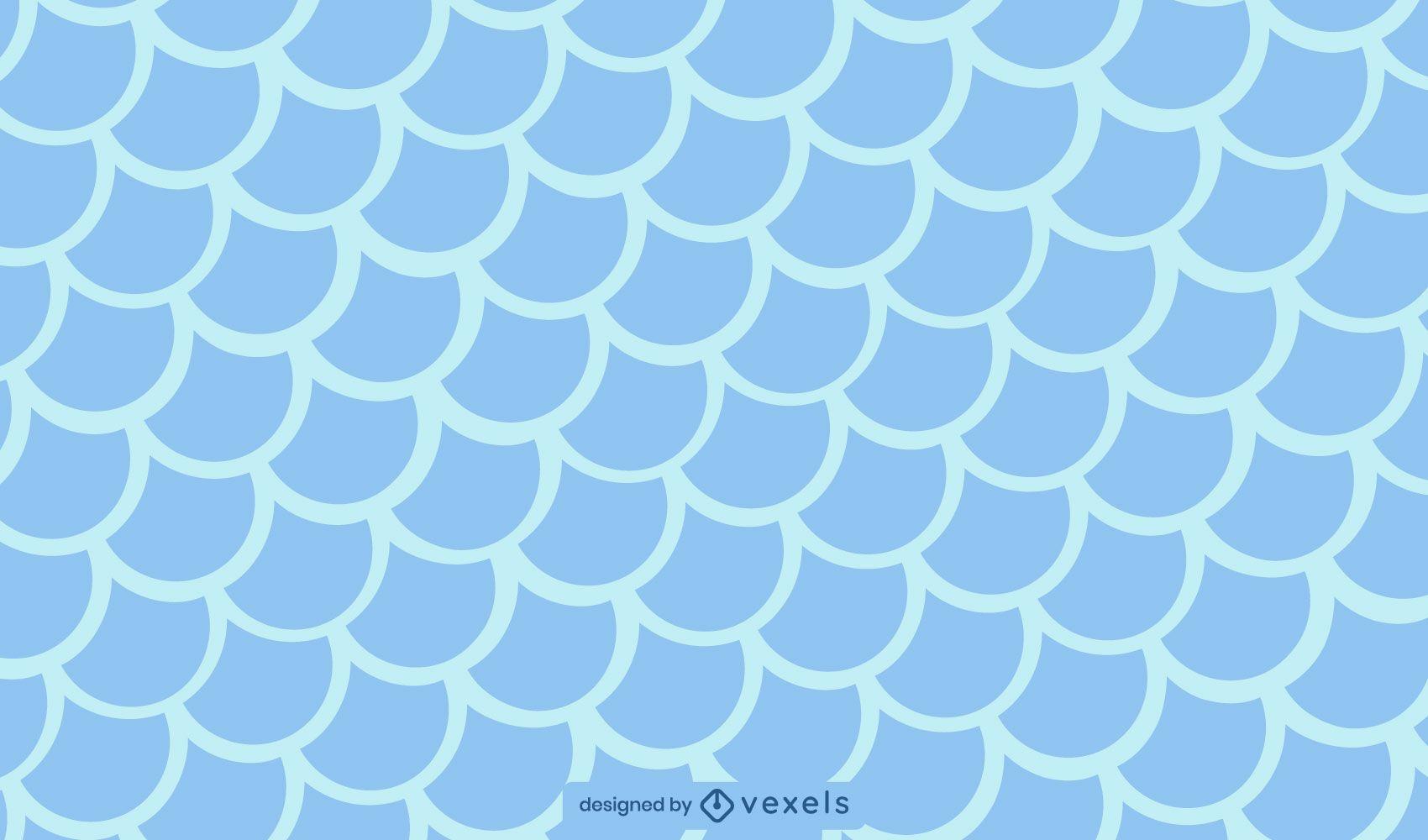 Patrón de textura de escamas de pescado