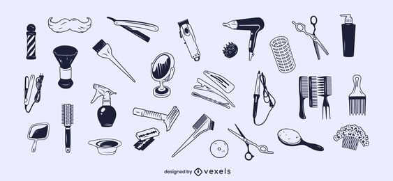 Conjunto de traços de elementos de estilo