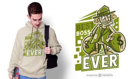 Best boss ever t-shirt design