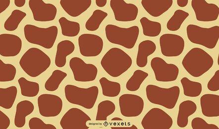 Diseño de estampado de jirafa