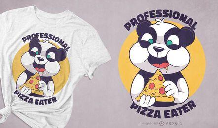 Pizza panda t-shirt design