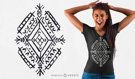 Berber motif t-shirt design