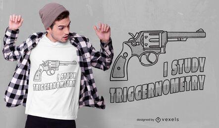 Diseño de camiseta de triggernometría