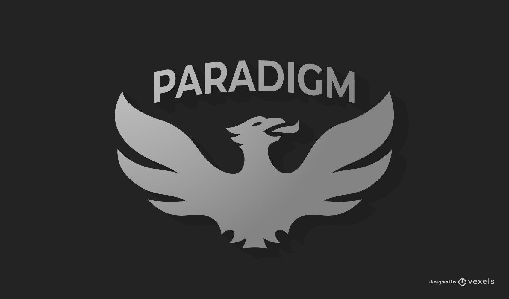 Paradigm logo template