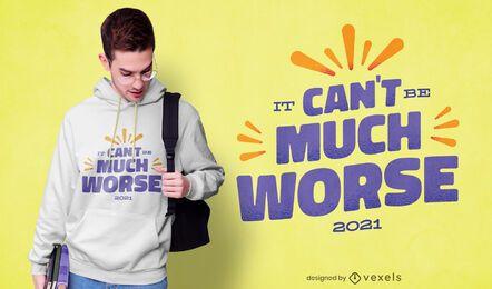 No puede ser peor el diseño de la camiseta