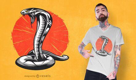 Diseño de camiseta Cobra