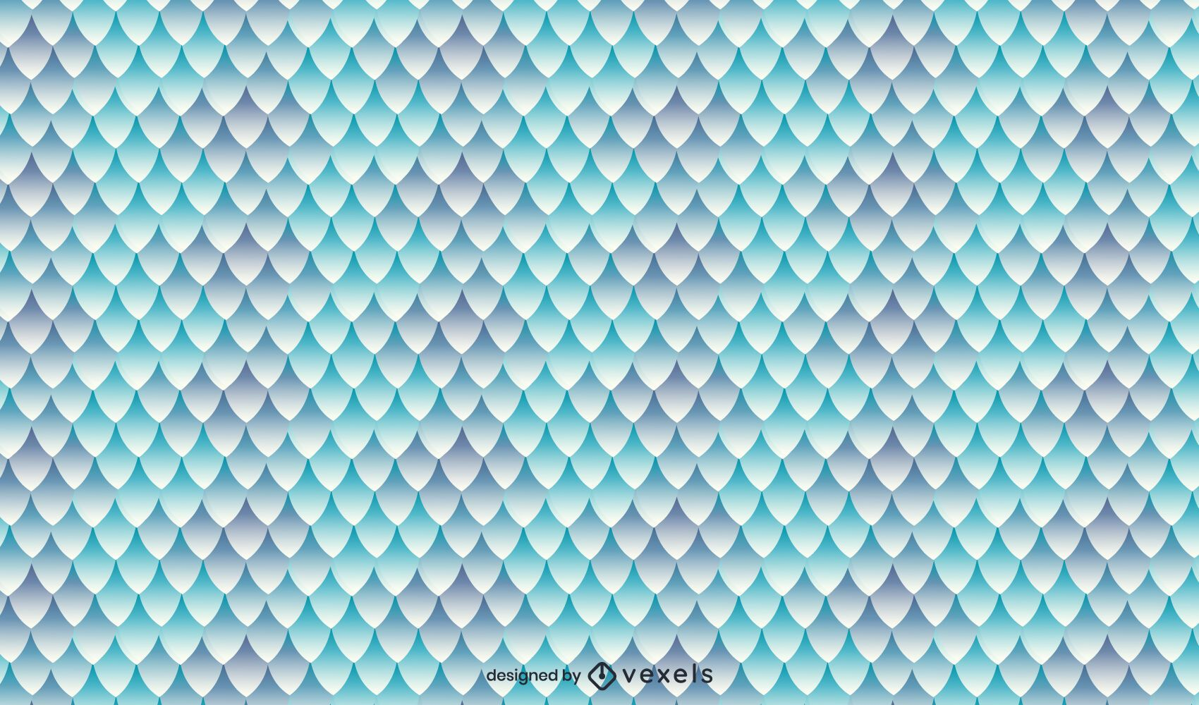 Dragon scales texture pattern