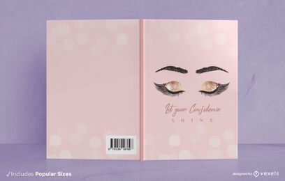 Vertrauen glänzen Buchumschlag Design