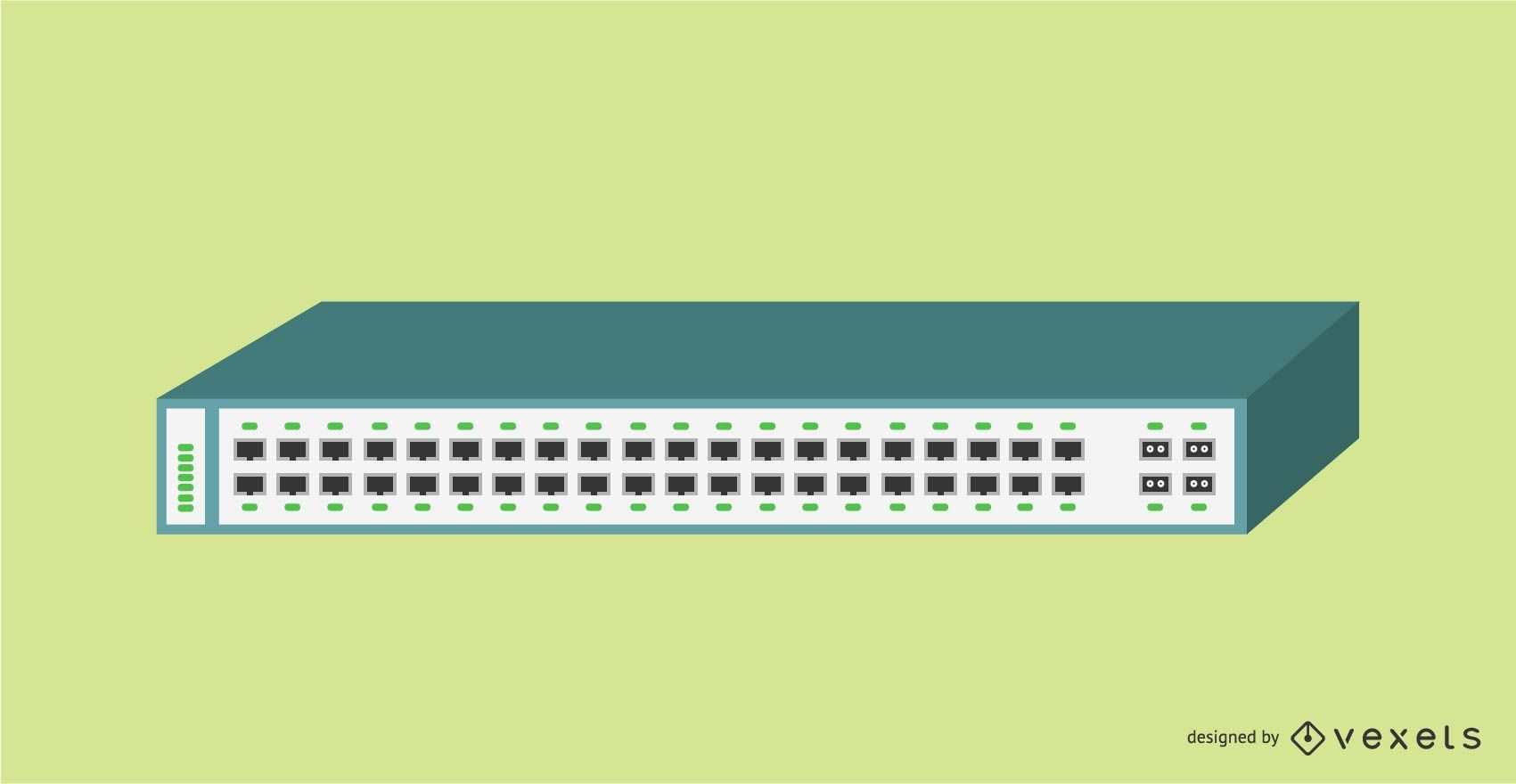 Conmutador Ethernet Gigabit