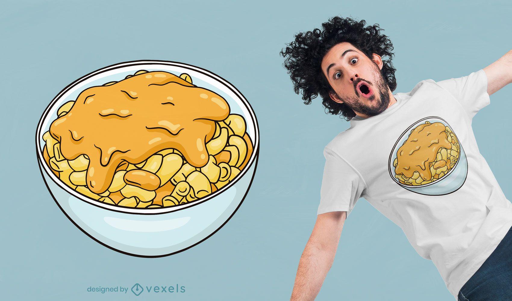 Mac n cheese t-shirt design