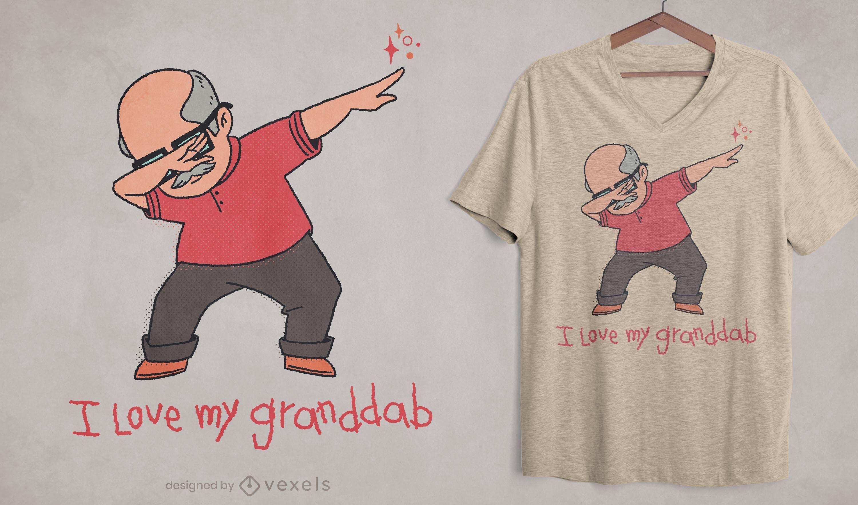 Diseño de camiseta Granddab