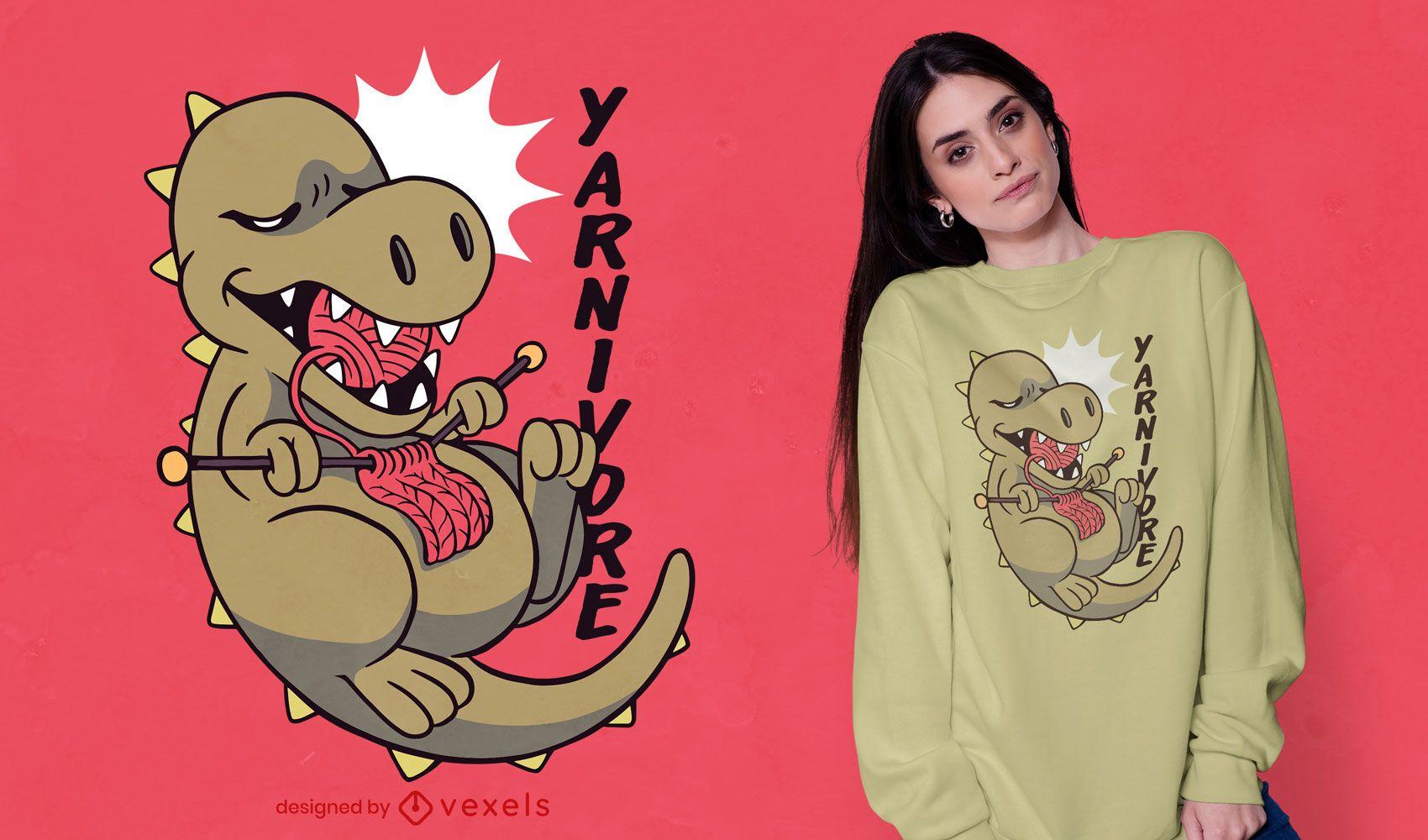 Yarnivore t-shirt design