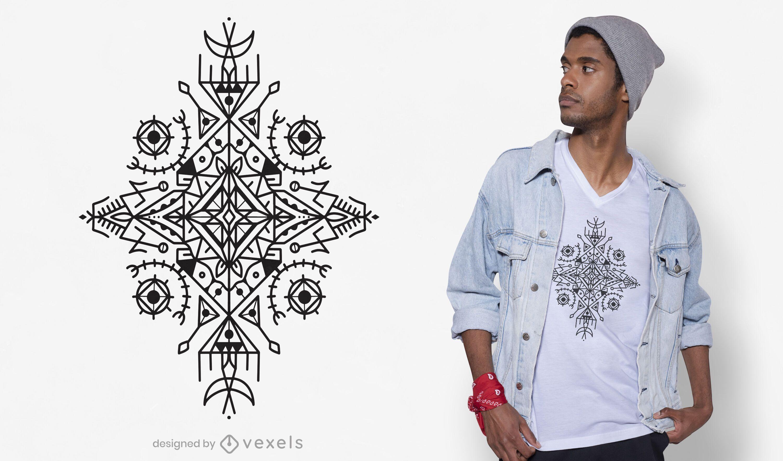 Berber shape t-shirt design