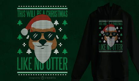 Christmas Like No Otter t-shirt