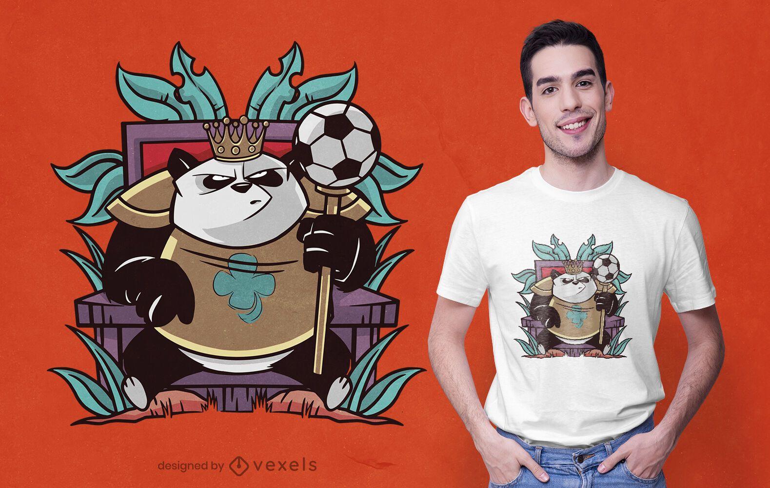 Royal panda t-shirt design