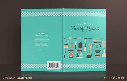 Familienrezepte Buchumschlag Design