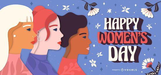 Illustration zum Frauentag