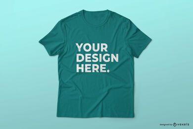 Einfaches T-Shirt-Modelldesign