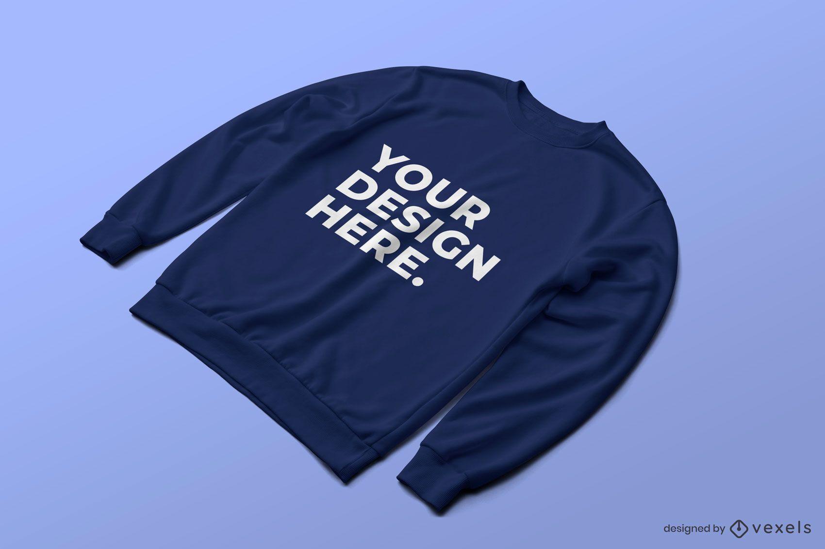 Sweatshirt psd mockup design