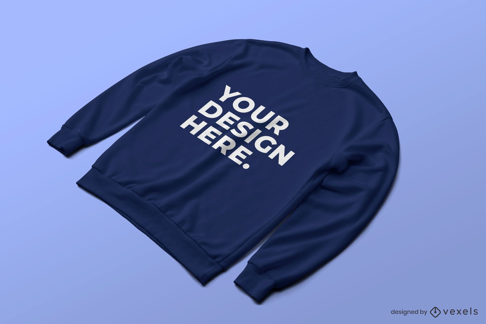 Sweatshirt psd Modell Design