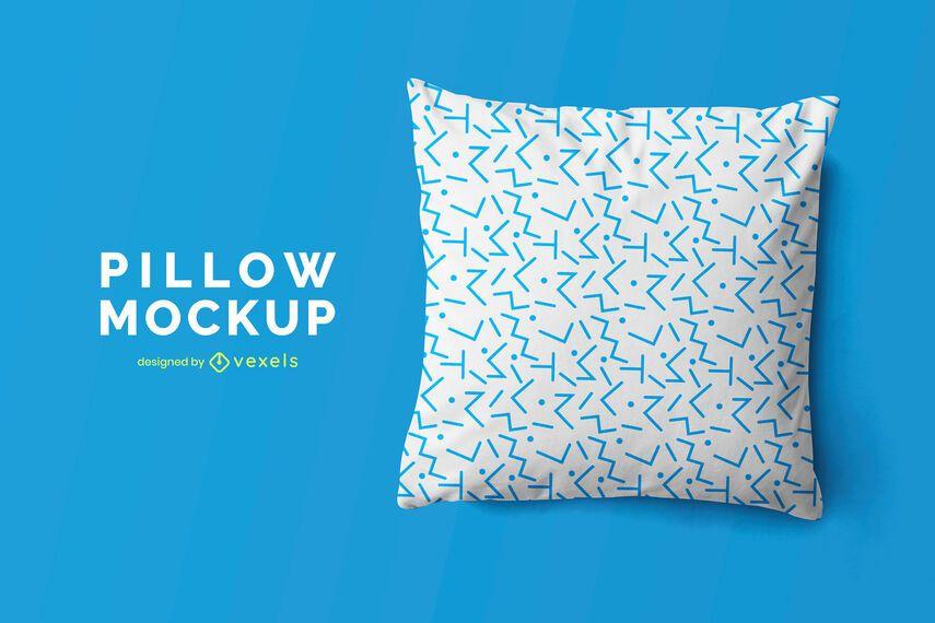 Throw pillow mockup design
