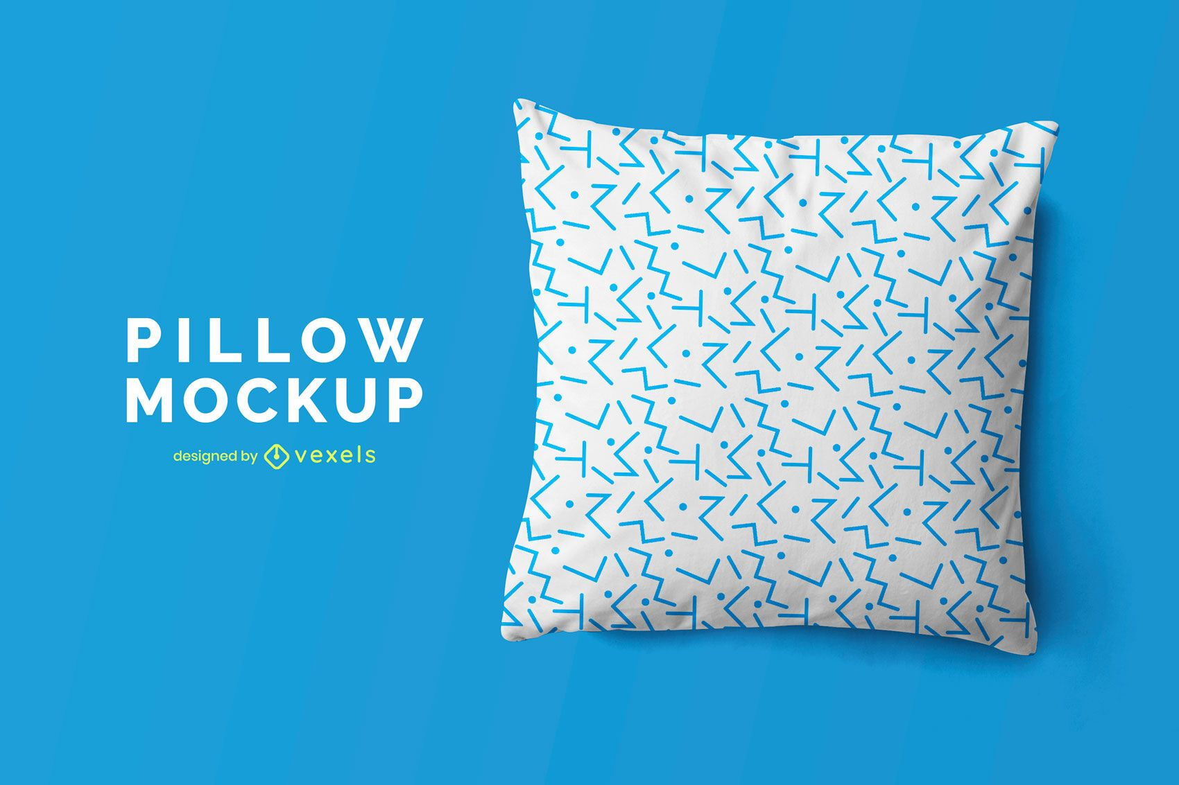 Projetar maquete de travesseiro