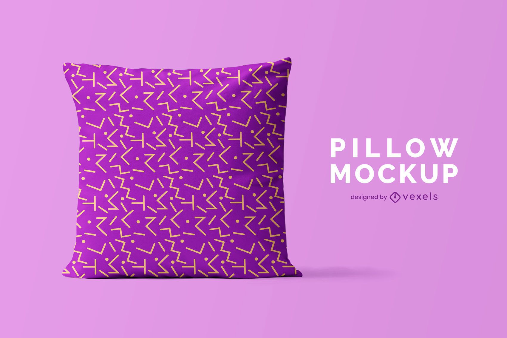 Pillow psd mockup design