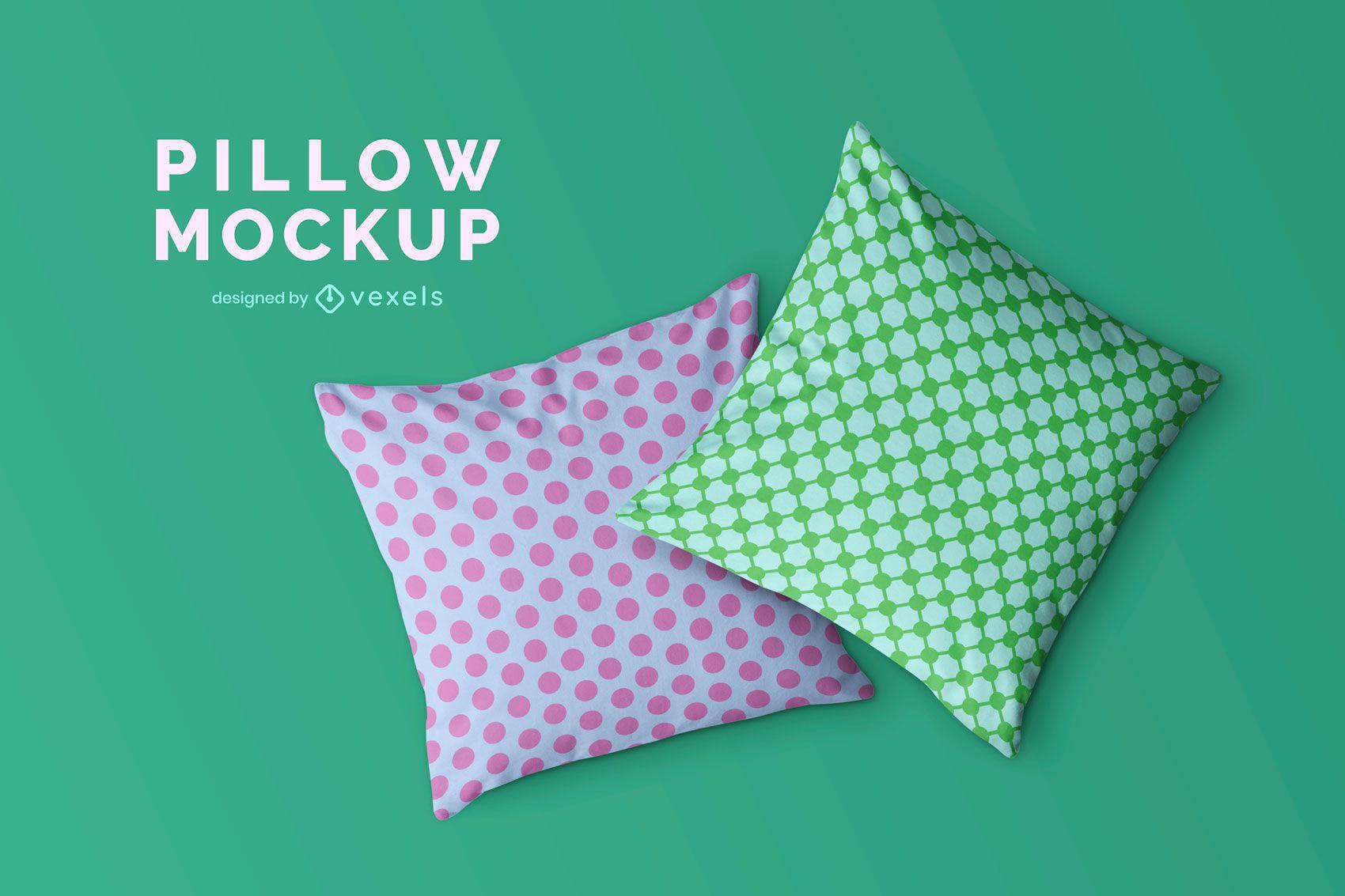 Diseños de maquetas de almohadas