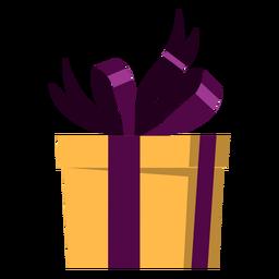 Ilustração do presente do arco