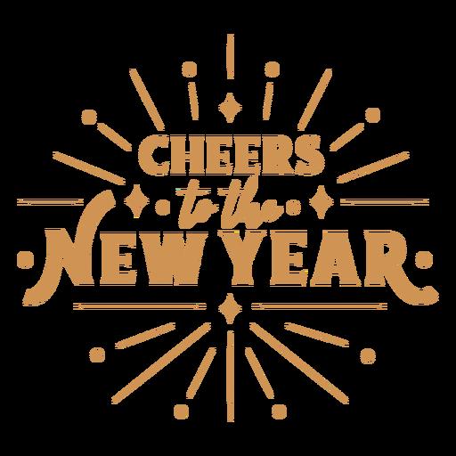Letras de saudação de ano novo
