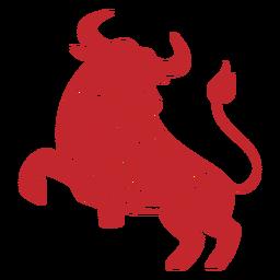 Boi do ano novo chinês cortado