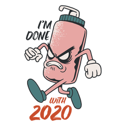 Done with 2020 badge