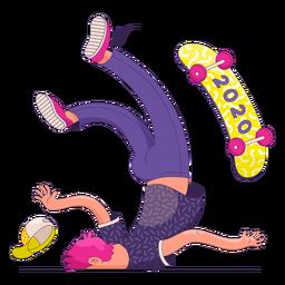 Falling skater 2020 character