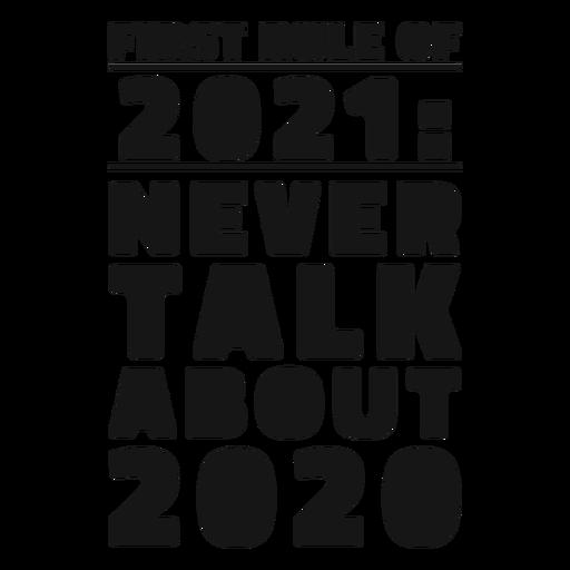 Primera regla de 2021 letras