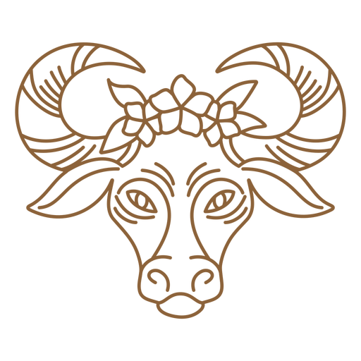 Floral ox stroke