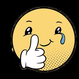 Ocultar emoji de tristeza