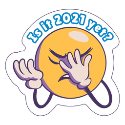 Is it 2021 anti 2020 badge