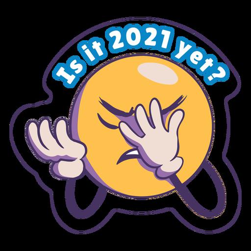 Is it 2021 anti 2020 badge