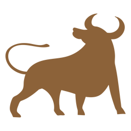 Ox animal silhouette