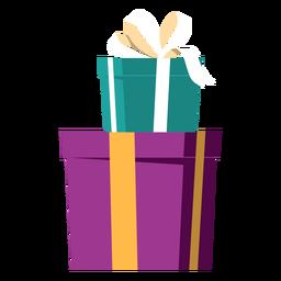 Present on present illustration