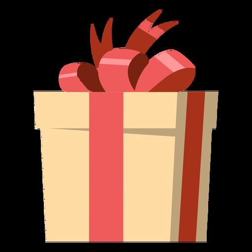 Wrapped present illustration