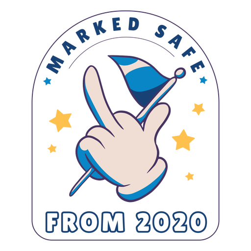 Safe from 2020 badge