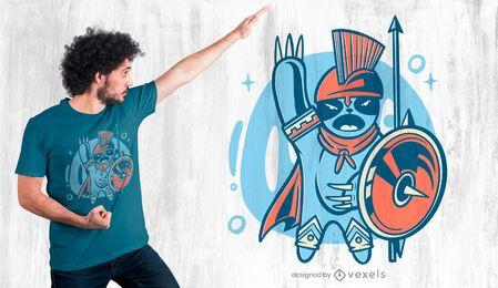 Diseño de camiseta Sparta Sloth
